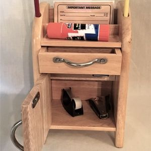 Other - Hardwood Counter or Desk Top Message Center